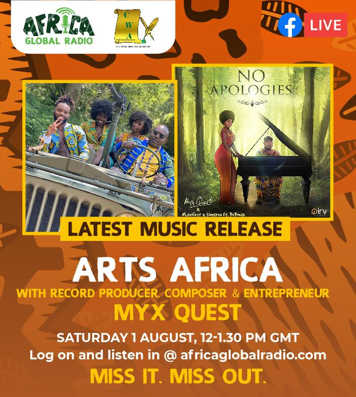 Myx Quest on Arts Africa